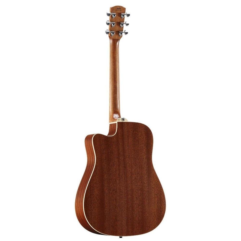 alvarez ad60ce artist series solid top acoustic electric dreadnought guitar. Black Bedroom Furniture Sets. Home Design Ideas