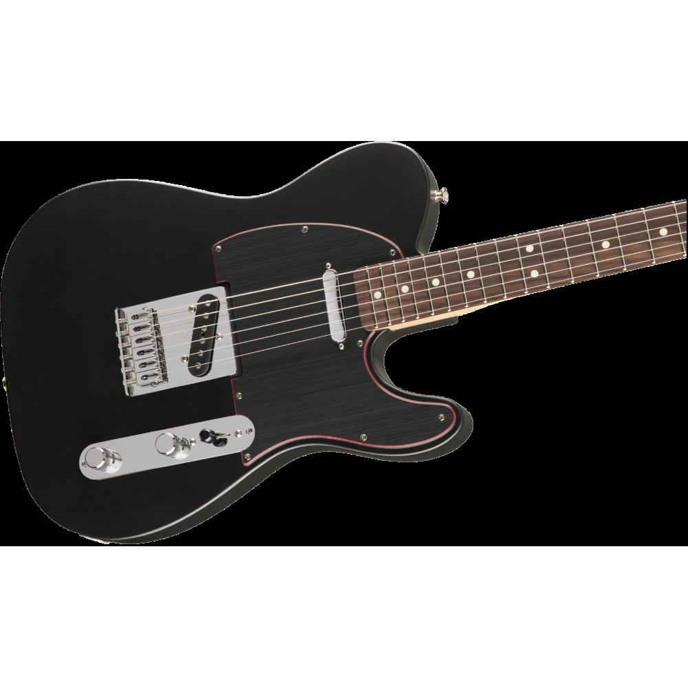 fender special edition telecaster noir satin black electric guitar mexico. Black Bedroom Furniture Sets. Home Design Ideas