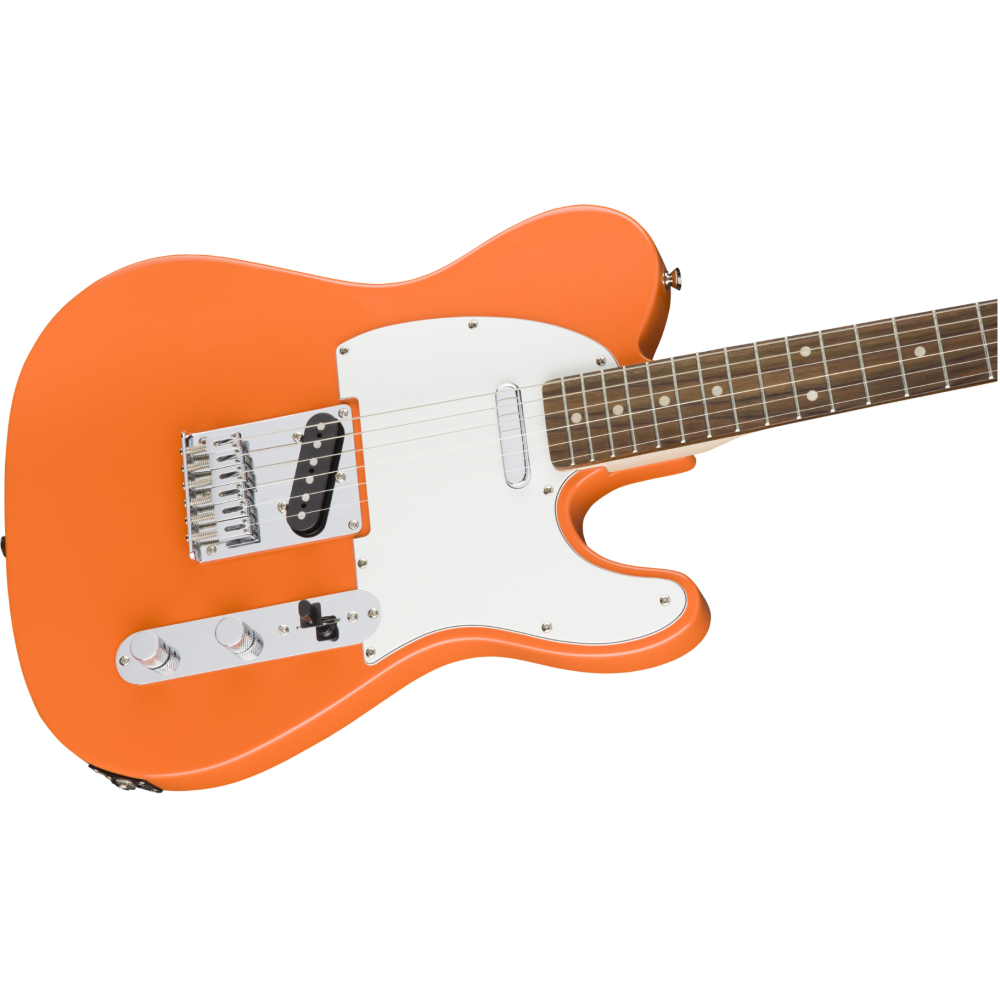 fender squier affinity series telecaster electric guitar competition orange. Black Bedroom Furniture Sets. Home Design Ideas