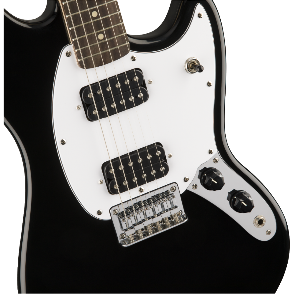 Squier By Fender Bullet Mustang  2 Humbuckers  Gloss Black