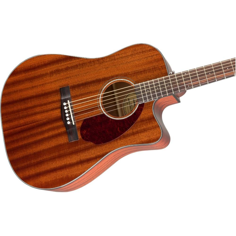 fender cd 140sce acoustic electric mahogany dreadnought guitar w hard case demo. Black Bedroom Furniture Sets. Home Design Ideas