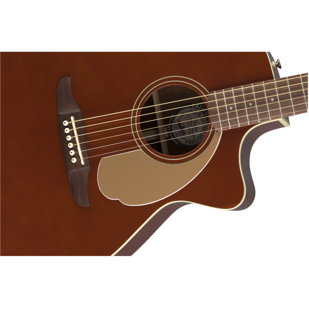 fender newporter player model electric acoustic guitar in rustic copper so cool. Black Bedroom Furniture Sets. Home Design Ideas