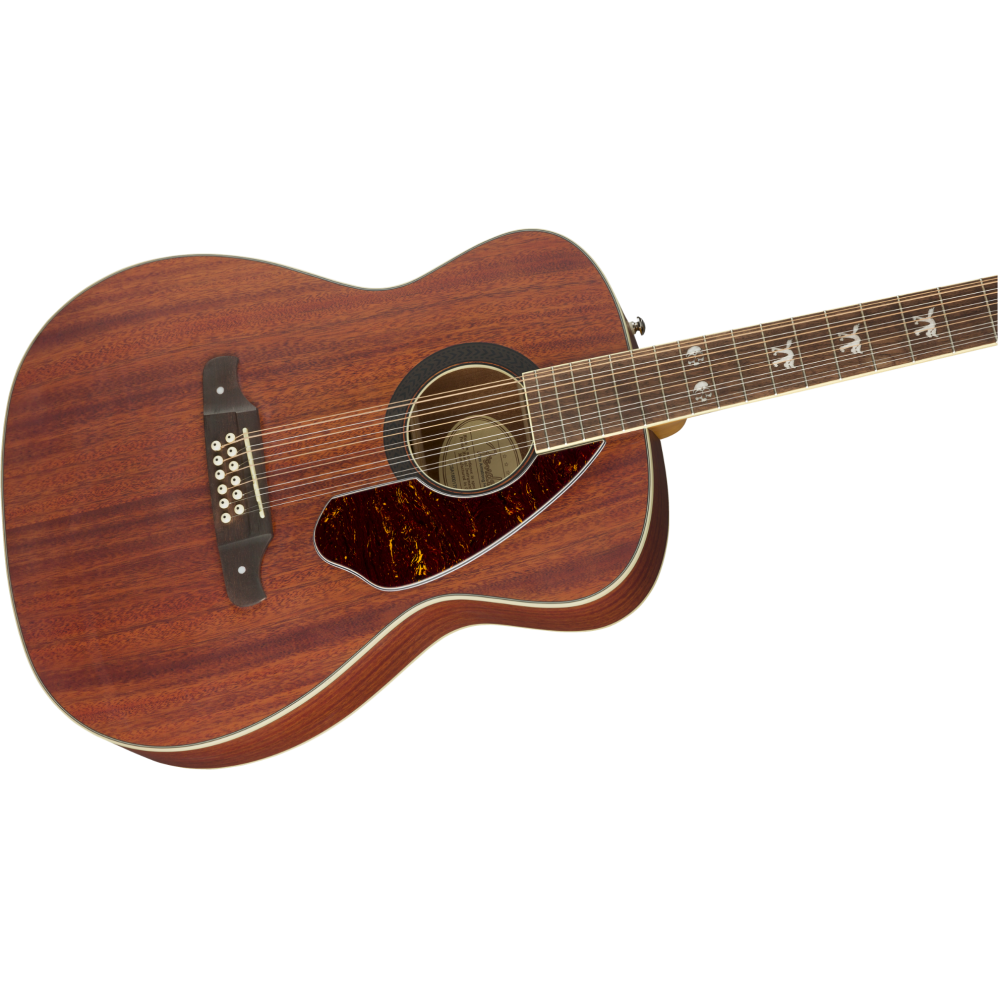 fender tim armstrong hellcat 12 string acoustic electric guitar natural mahogany. Black Bedroom Furniture Sets. Home Design Ideas
