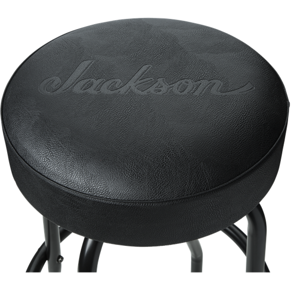Marvelous Jackson Guitars Black 30 Inch Deluxe Barstool With Padded Alphanode Cool Chair Designs And Ideas Alphanodeonline