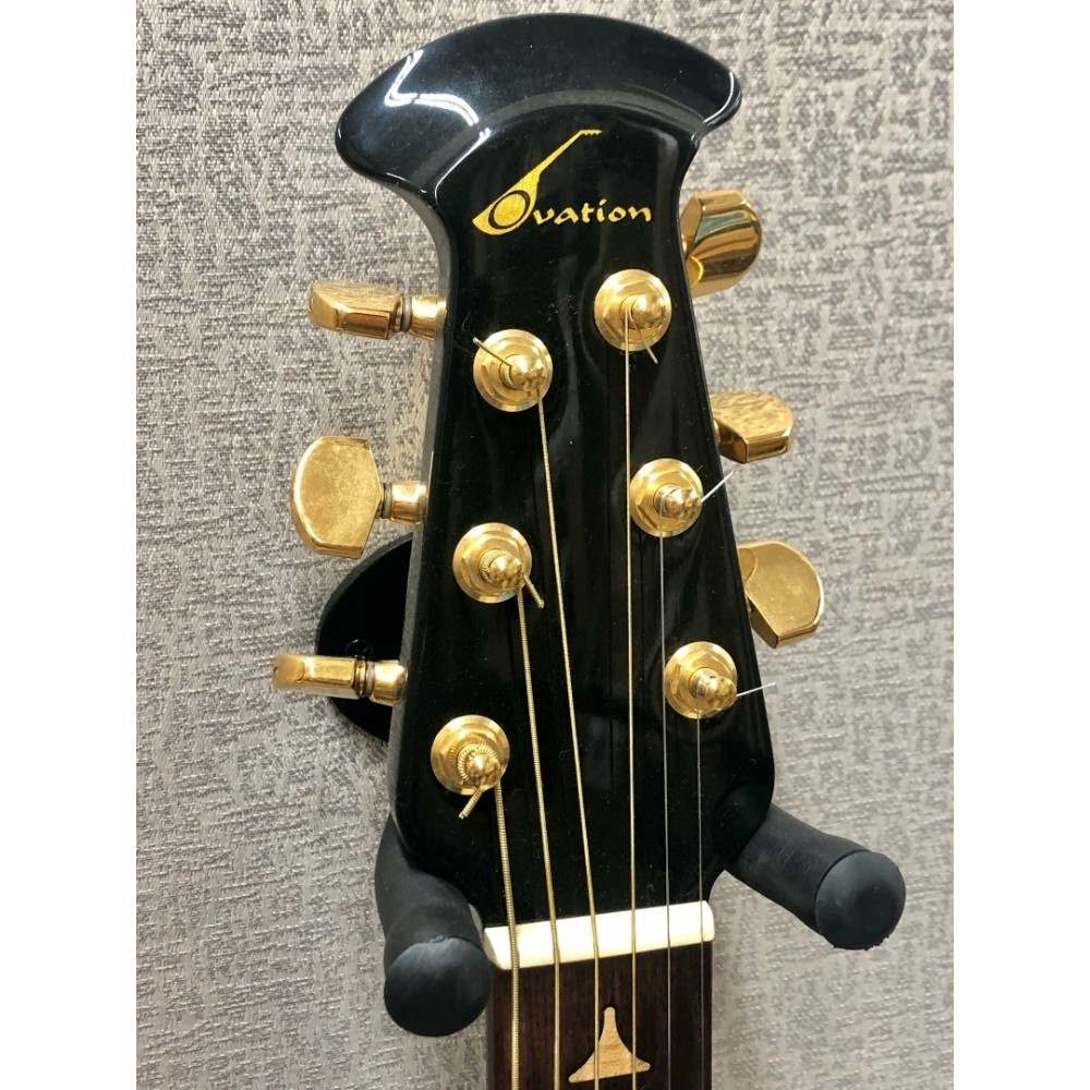 Ovation Model 1868 Elite With Hardshell case in Black - MADE IN USA