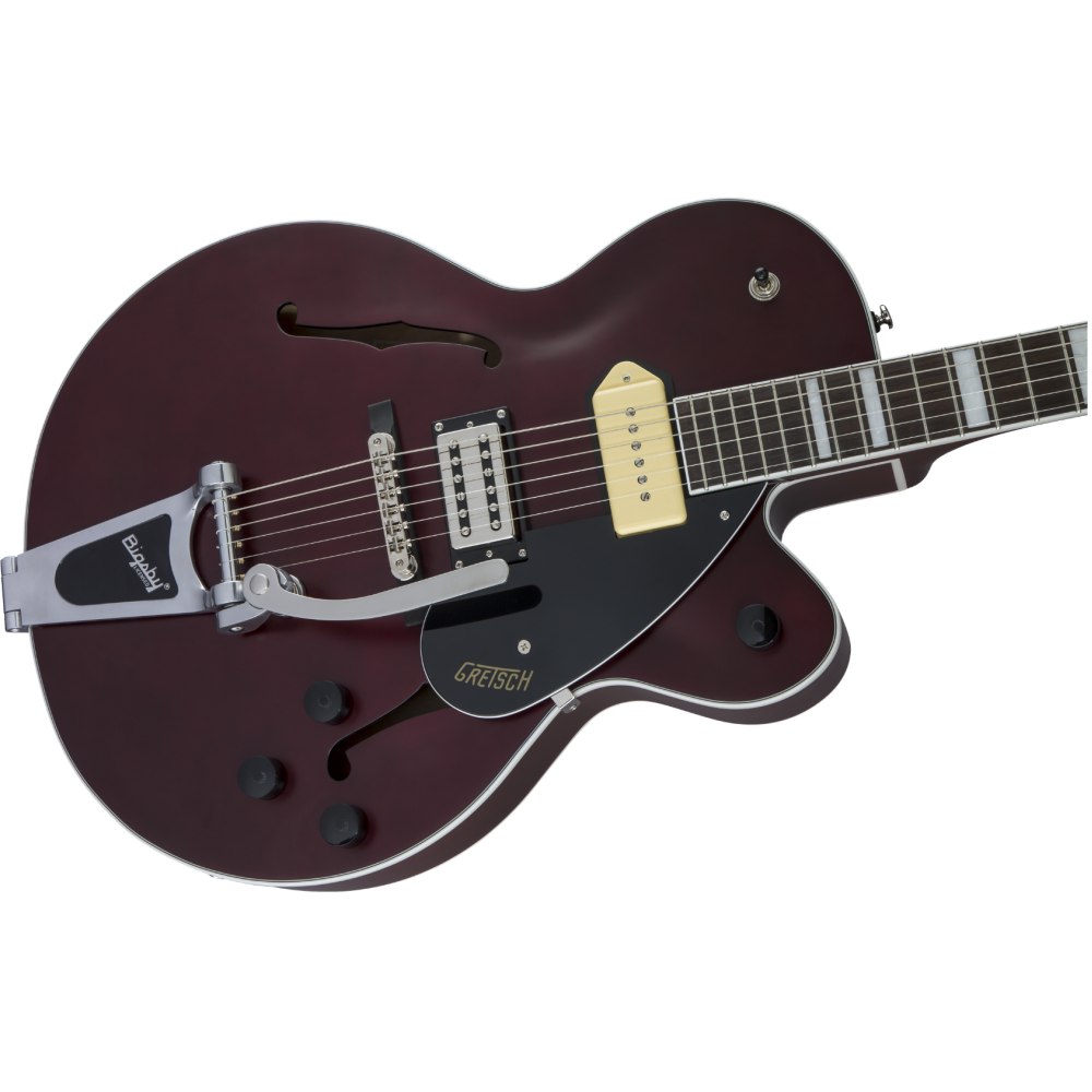 gretsch g2420t p90 limited ed streamliner hollow body guitar with bigsby demo. Black Bedroom Furniture Sets. Home Design Ideas