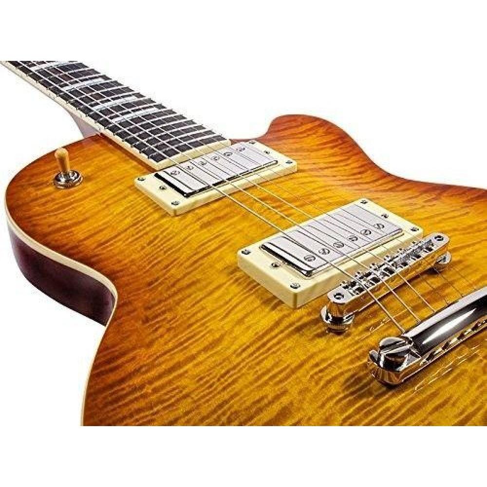 guild guitars bluesbird itb ice tea burst electric guitar with gig bag blem j70. Black Bedroom Furniture Sets. Home Design Ideas