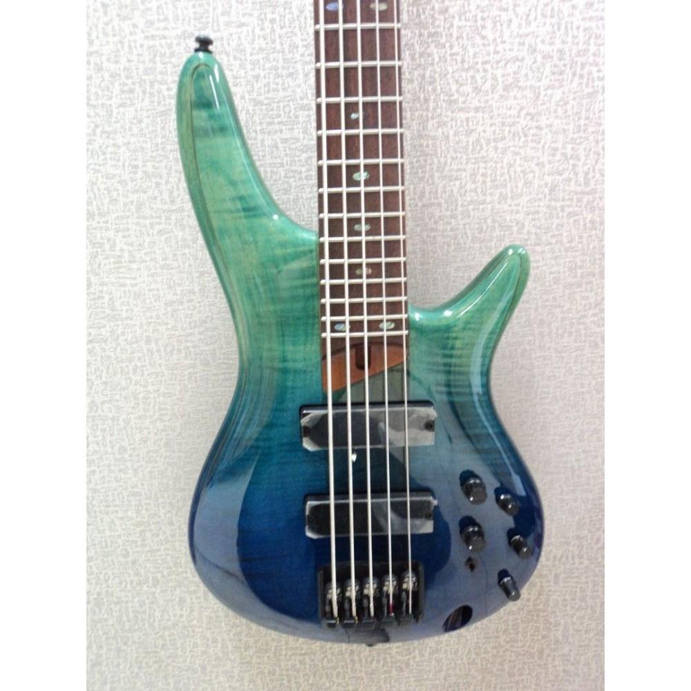 ibanez sr875brg sr series standard 5 string electric bass guitar damage mf38. Black Bedroom Furniture Sets. Home Design Ideas