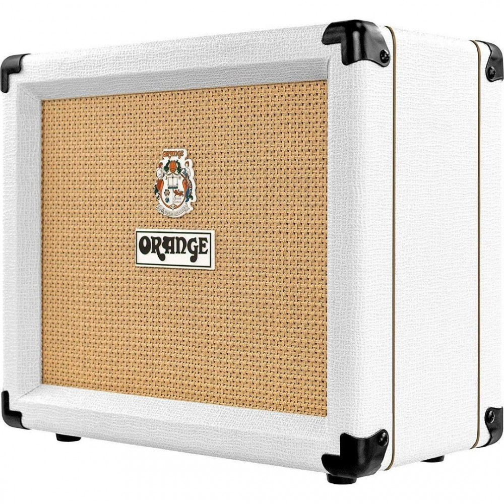 orange crush 20 white ltd 50th anniversary twin channel combo guitar amplifier. Black Bedroom Furniture Sets. Home Design Ideas