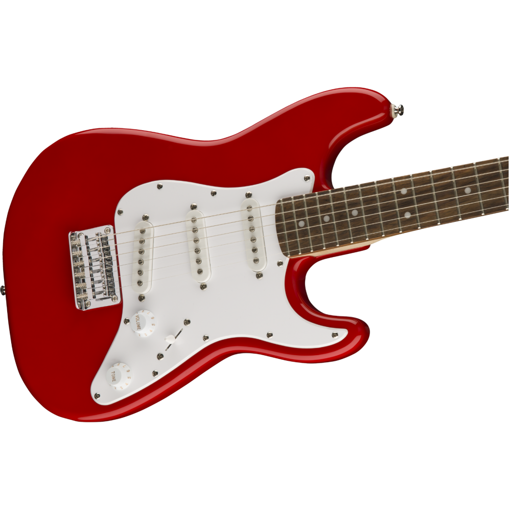 squier fender mini strat electric guitar v2 torino red stratocaster 0370121558. Black Bedroom Furniture Sets. Home Design Ideas