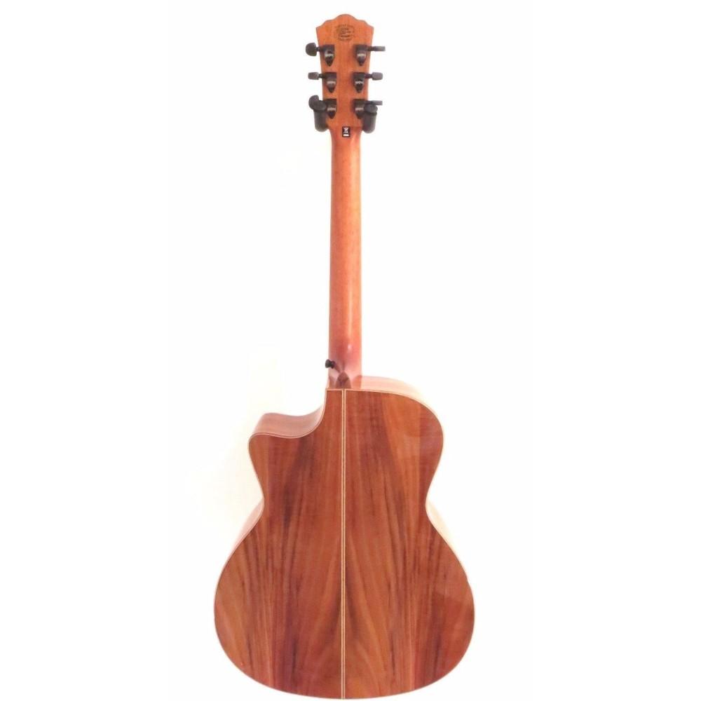 washburn model wcg55ce comfort series all koa acoustic electric guitar blem a779. Black Bedroom Furniture Sets. Home Design Ideas