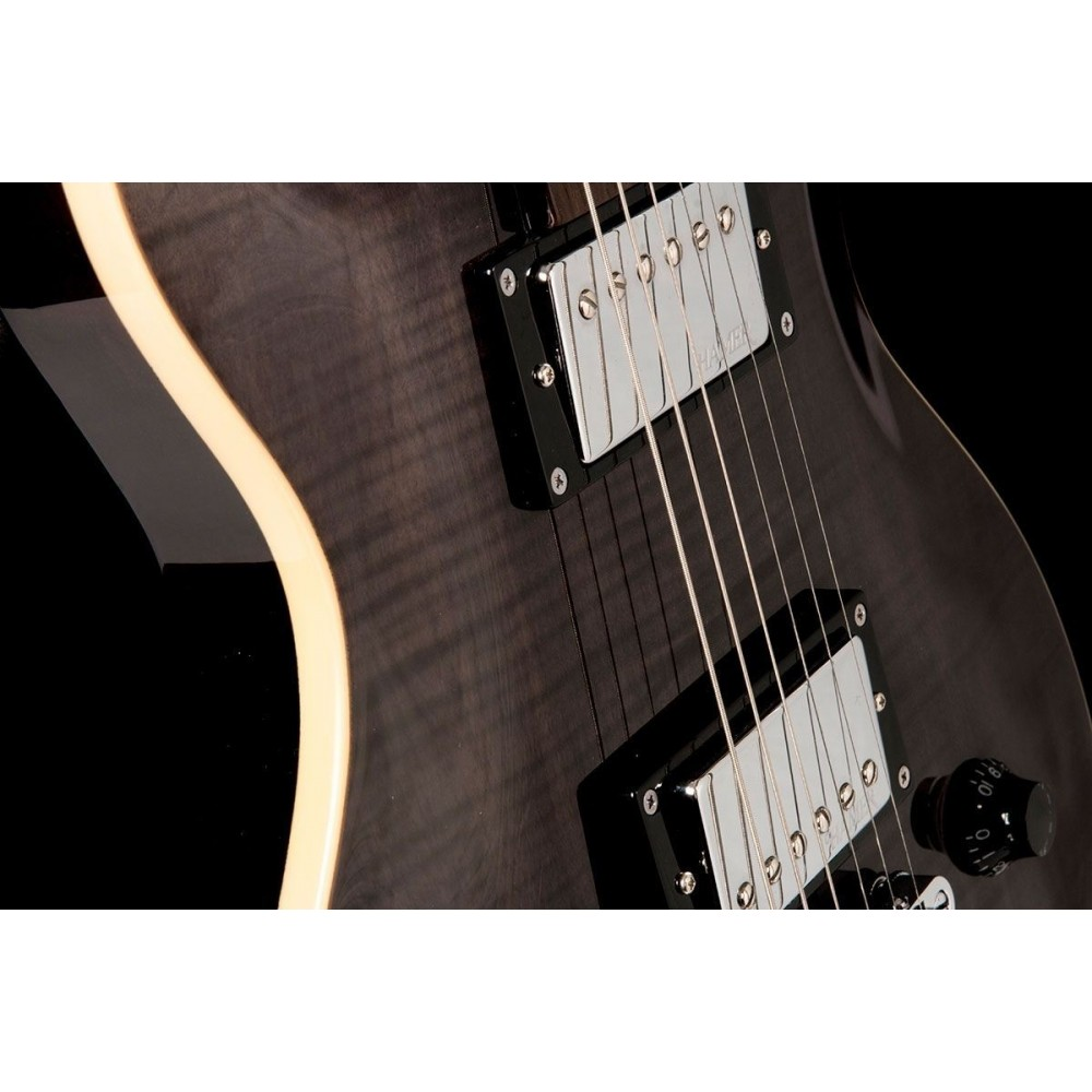 Hamer XT The Archtop SATFW-TBK Transparent Black Wilkinson