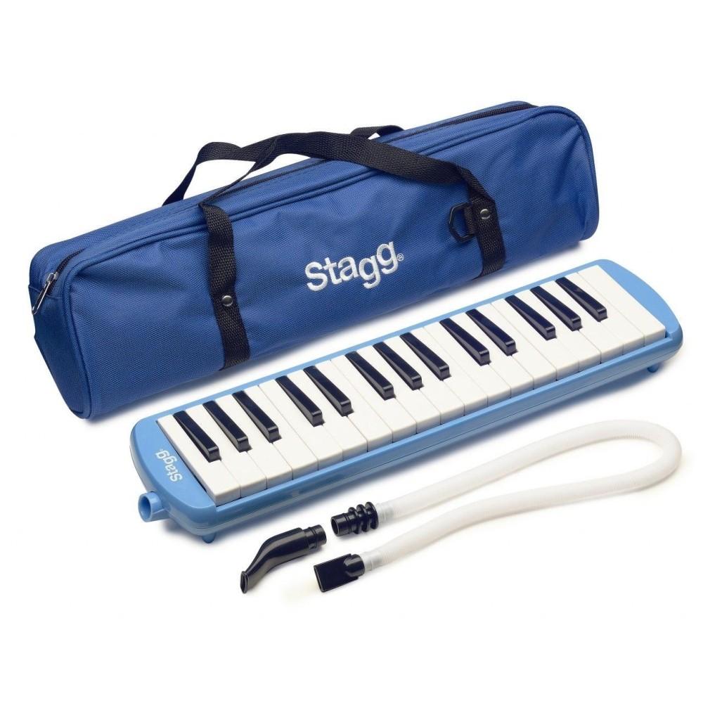 Stagg Model MELOSTA32 BL - Blue 32 Key Keyboard Melodica w