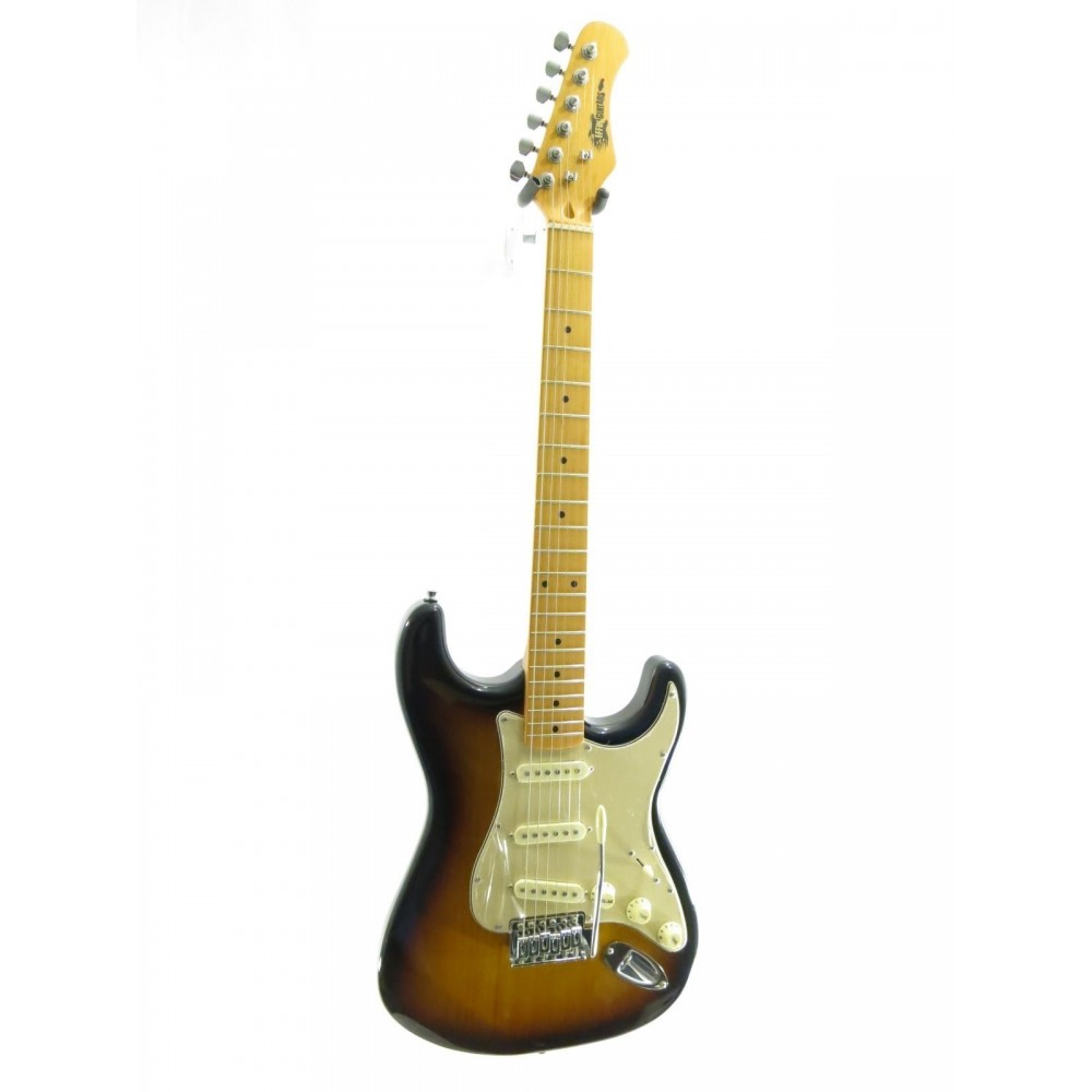 effin guitars oldstart sb sunburst deluxe electric guitar w effin tuner more. Black Bedroom Furniture Sets. Home Design Ideas