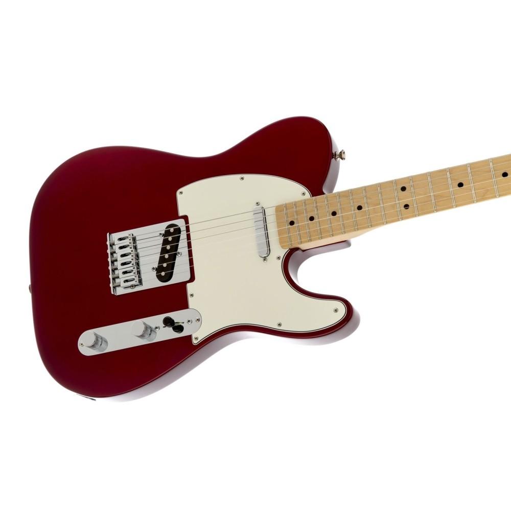 fender standard telecaster maple neck candy apple red electric guitar mim. Black Bedroom Furniture Sets. Home Design Ideas