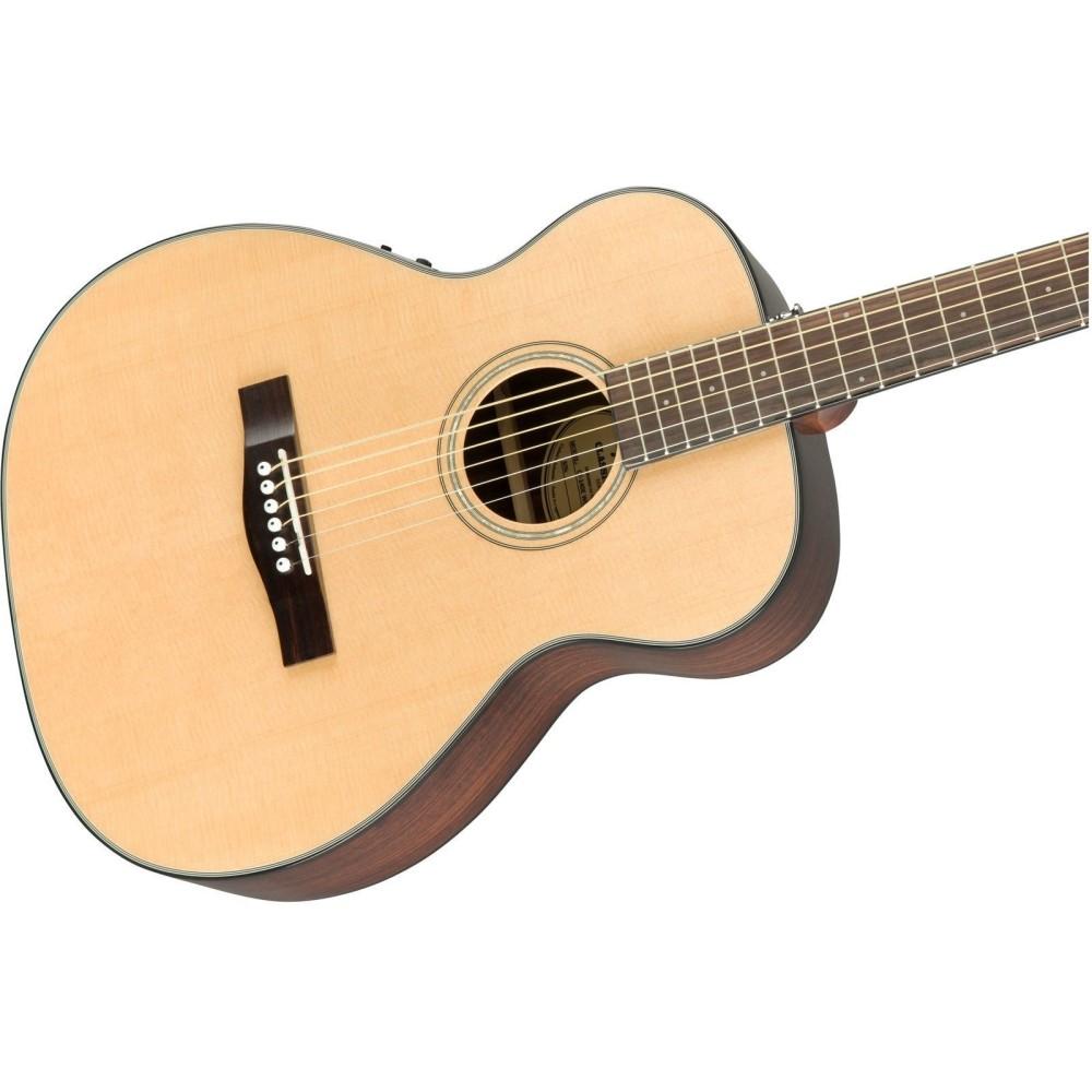 fender ct 140se solid spruce top acoustic electric travel guitar with hard case. Black Bedroom Furniture Sets. Home Design Ideas