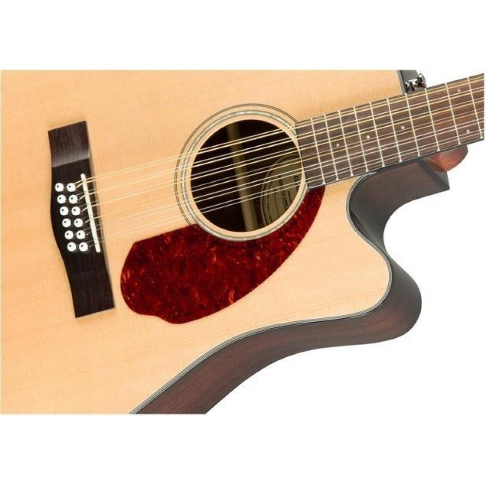 fender cd 140sce 12 12 string acoustic electric solid top guitar w case demo. Black Bedroom Furniture Sets. Home Design Ideas
