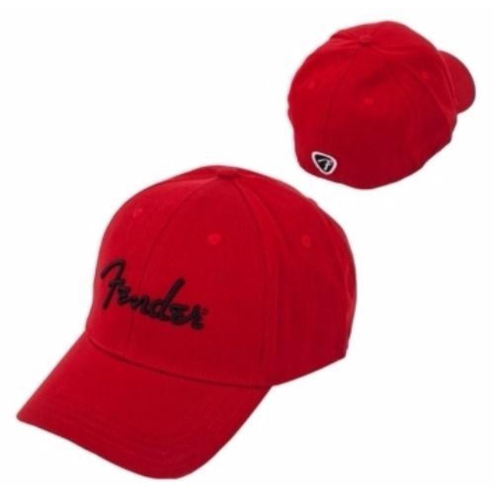 fender red hat logo fender guitar hat red baseball style hat cap