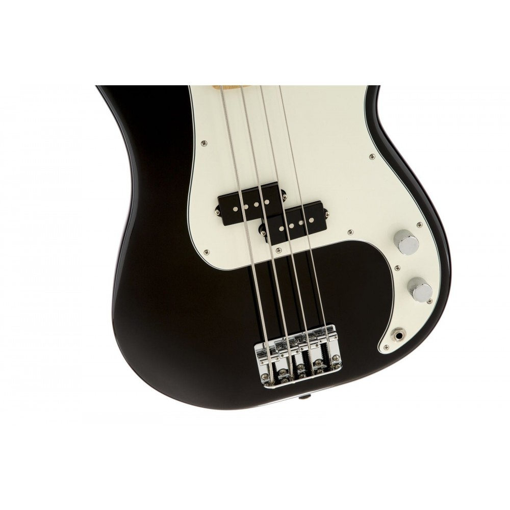 fender standard precision electric bass guitar maple neck black finish mim. Black Bedroom Furniture Sets. Home Design Ideas