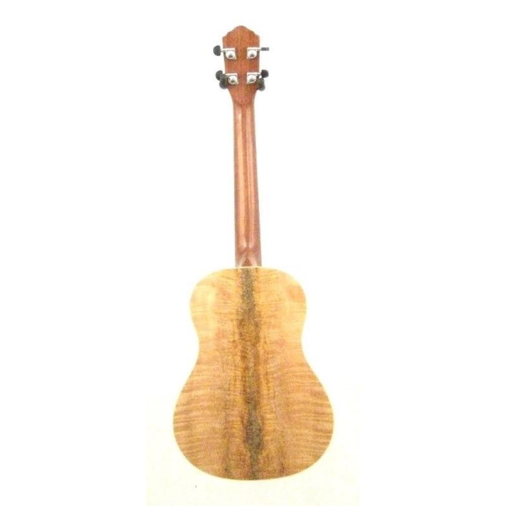 oscar schmidt ou57 spalted mango baritone size ukulele w strings more. Black Bedroom Furniture Sets. Home Design Ideas