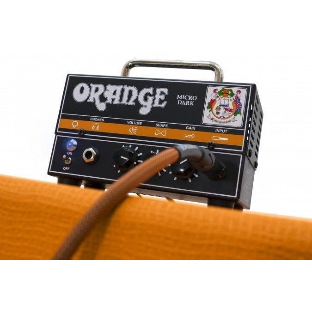 Orange Micro Dark Mini Valve Hybrid 20 Watt Guitar Amp Head w/Effin