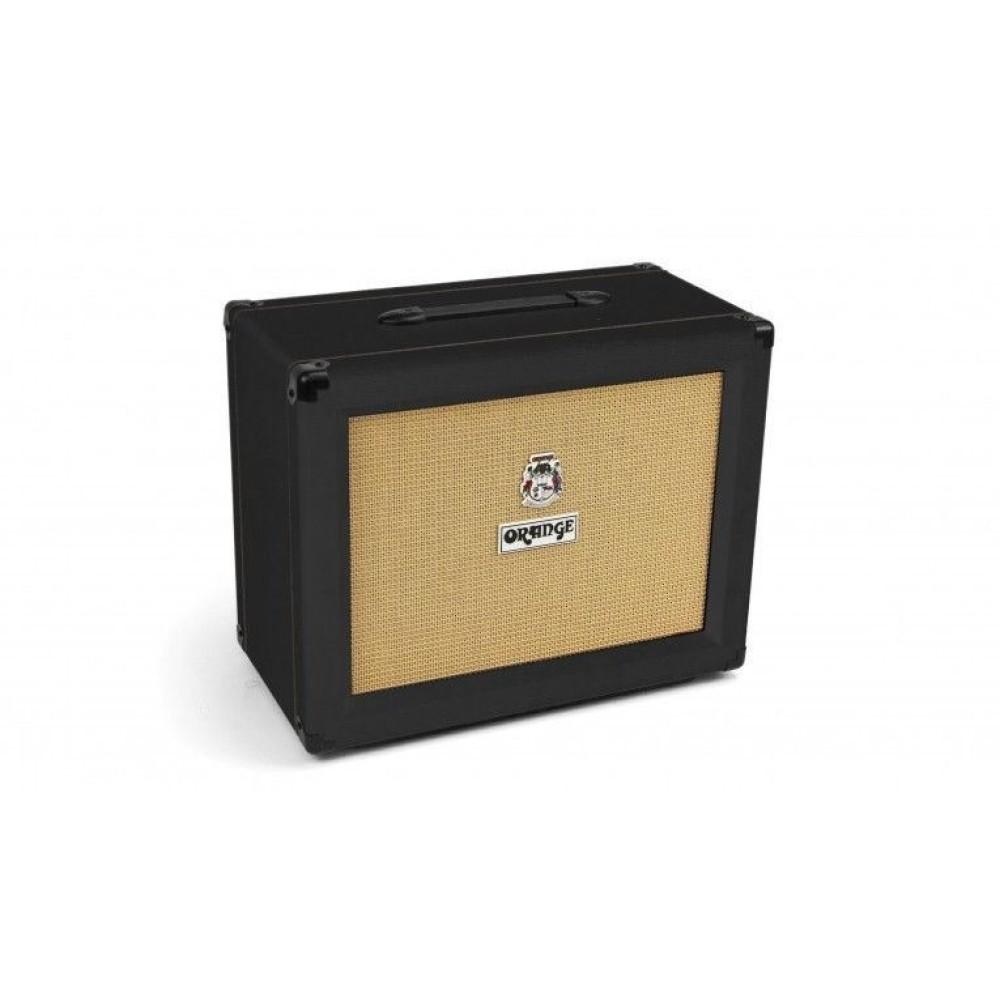 orange model ppc112 bk 60 watt black 1x12 electric guitar speaker cabinet. Black Bedroom Furniture Sets. Home Design Ideas