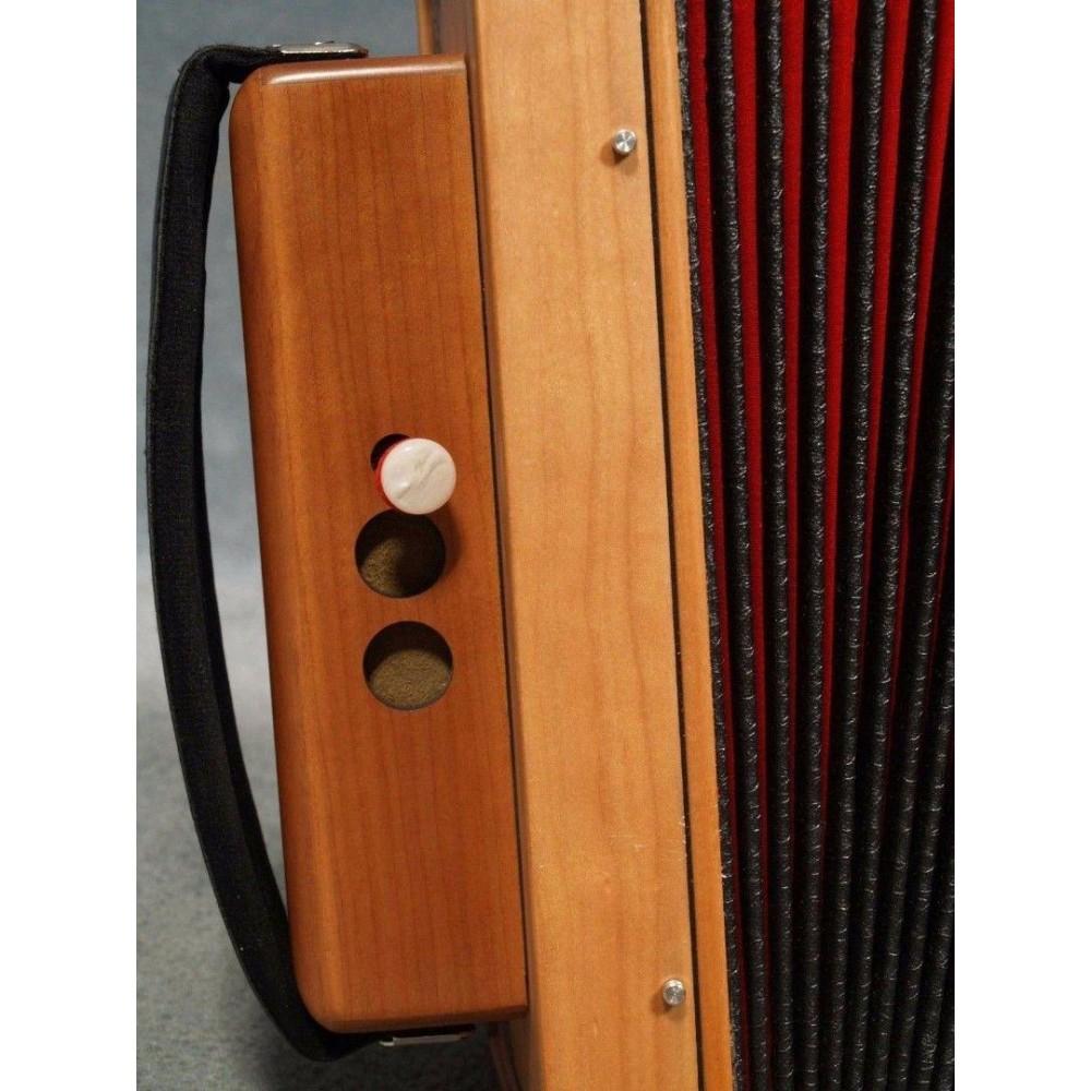 New Hohner CAJUN IV 10 Key Button One Row Cajun Diatonic Accordion