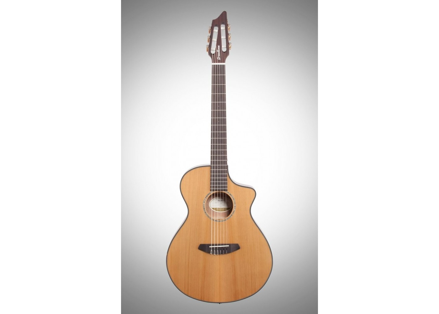 Breedlove Pursuit Concert CE NY Nylon String Acoustic Electric Guitar with  Bag