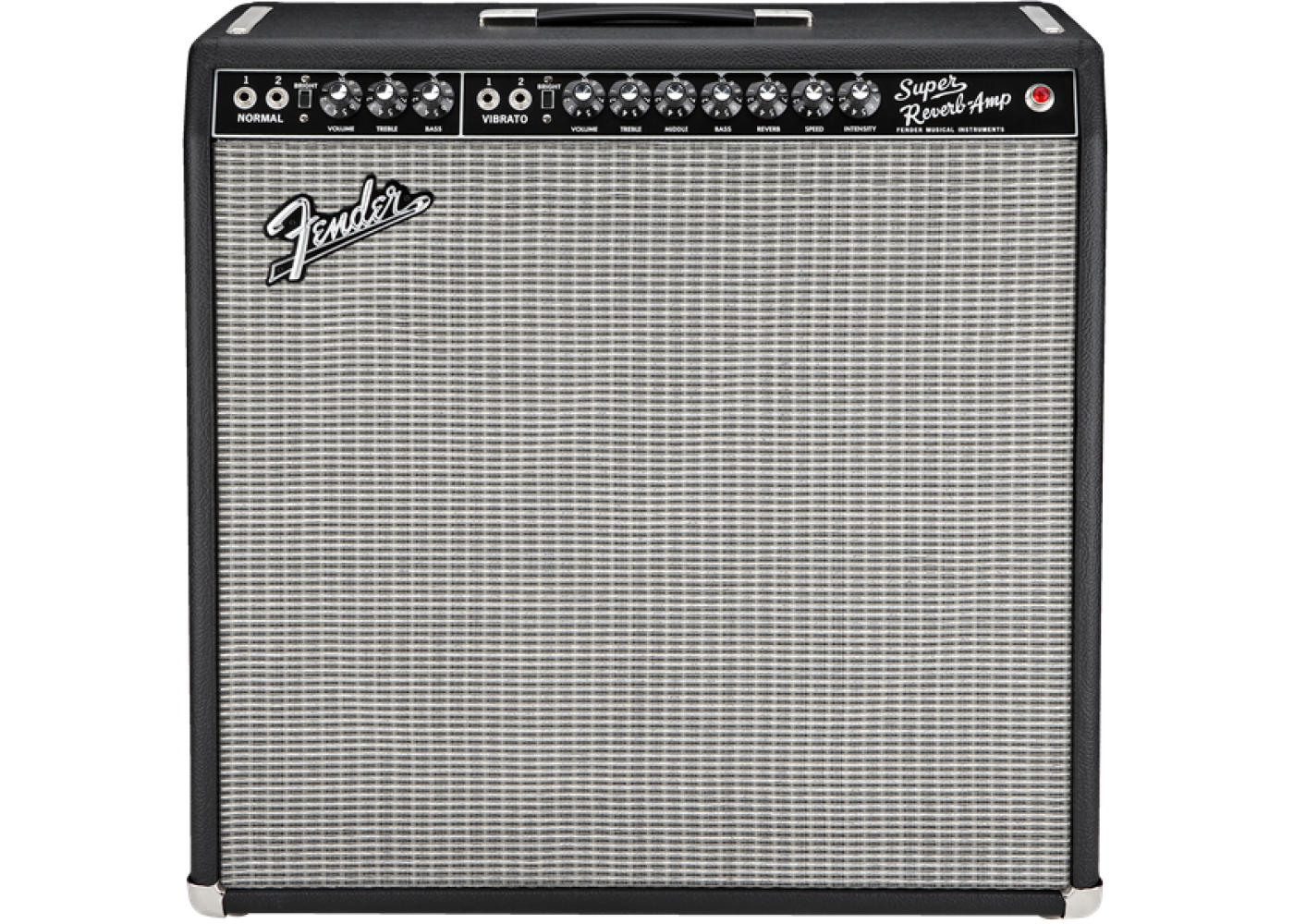 fender 39 65 super reverb 45 watt 4x10 electric guitar tube amplifier demo. Black Bedroom Furniture Sets. Home Design Ideas