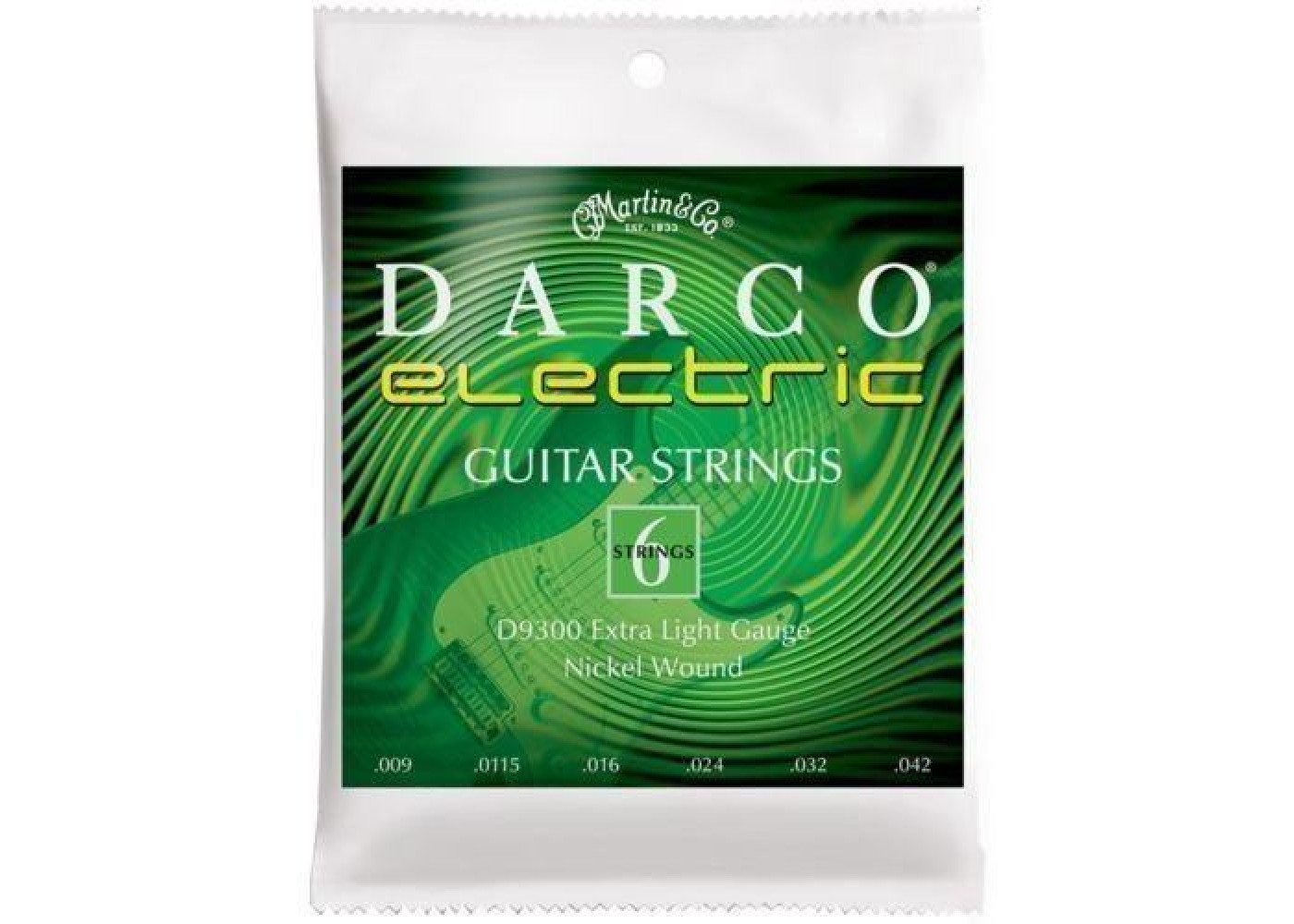 martin darco electric guitar strings d9300 extra light gauge 009 042 brand new. Black Bedroom Furniture Sets. Home Design Ideas