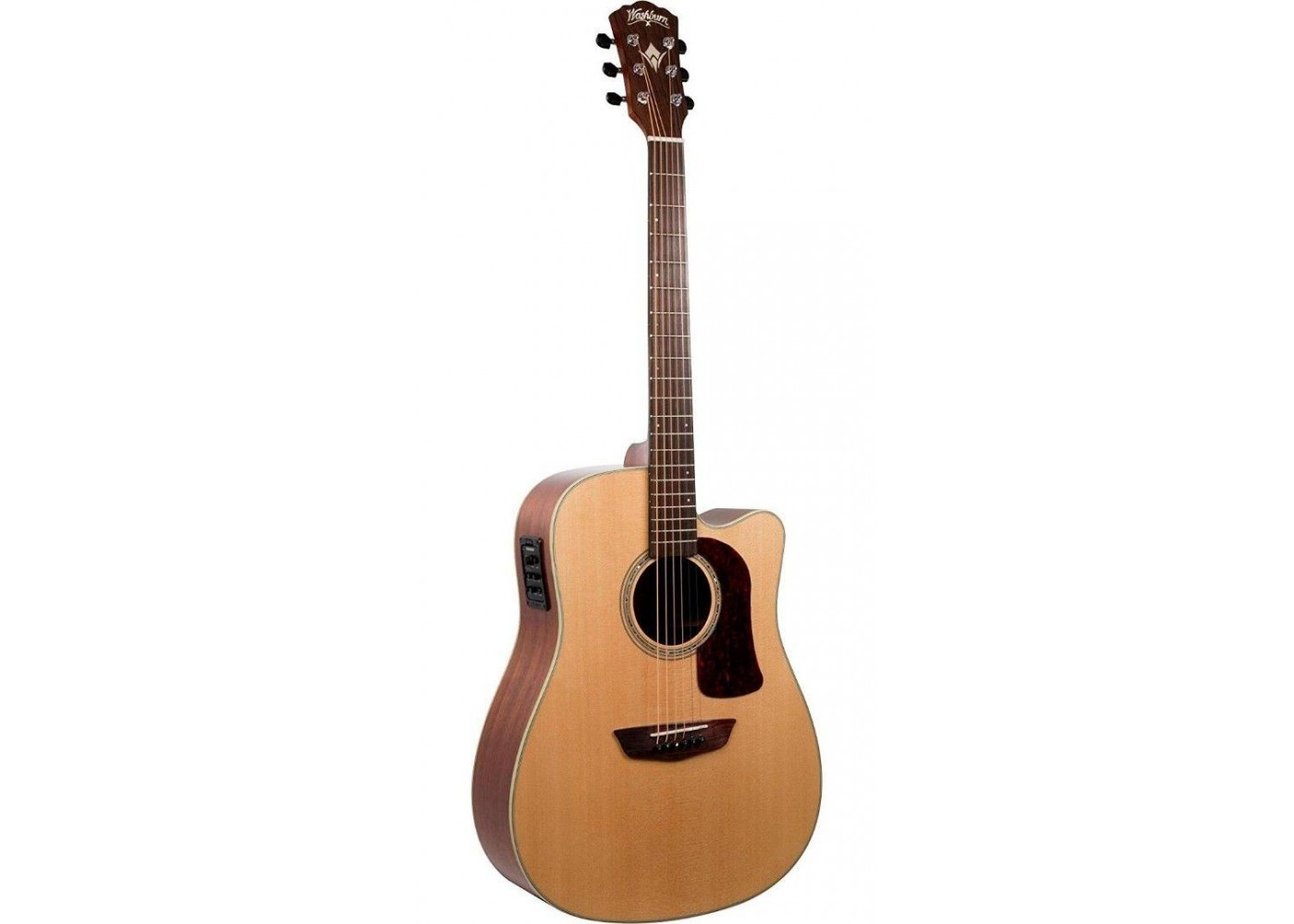 washburn hd100swcek heritage all solid acoustic electric guitar with case demo. Black Bedroom Furniture Sets. Home Design Ideas