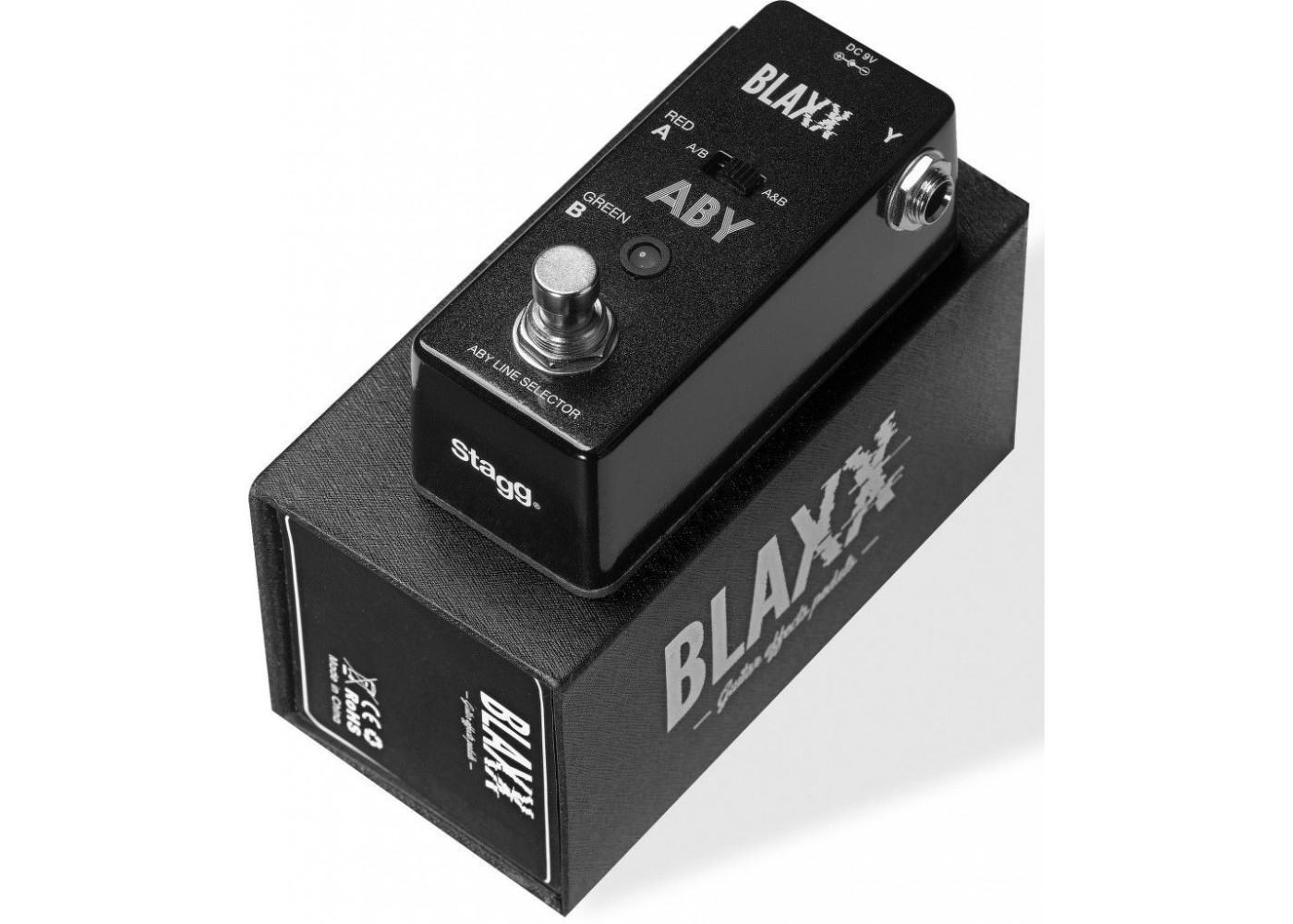 Blaxx By Stagg Model Bx Aby Box Electric Guitar Aby Switch Mini