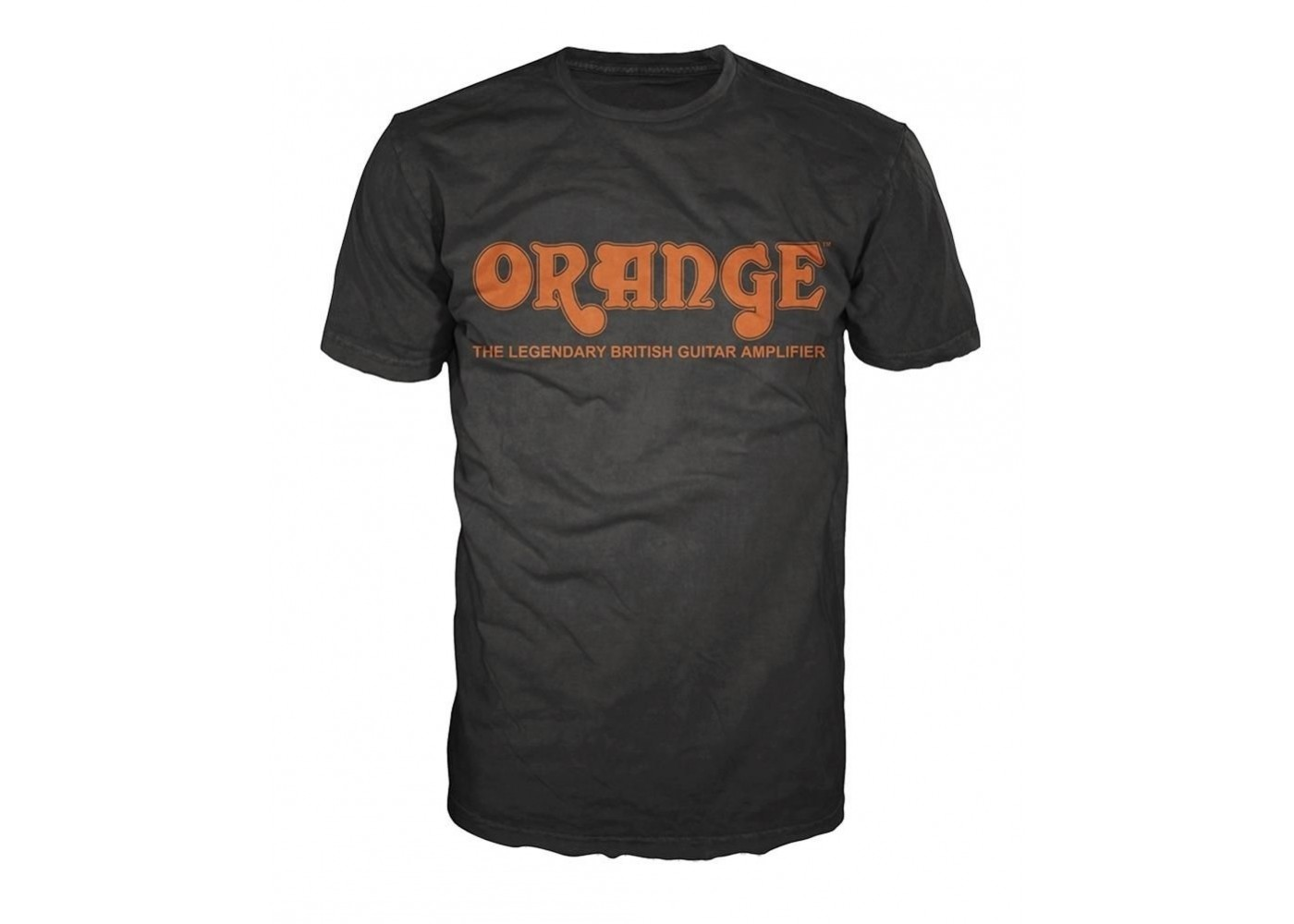 orange amplifiers black retro logo fitted 100 cotton t shirt men 39 s medium new. Black Bedroom Furniture Sets. Home Design Ideas