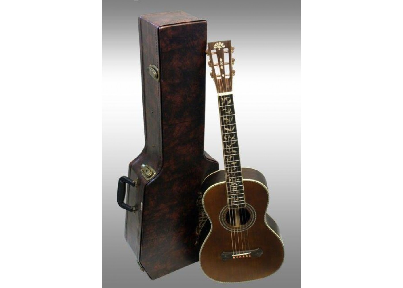 washburn r320swrk revival series parlor size acoustic guitar w case b1 blem. Black Bedroom Furniture Sets. Home Design Ideas