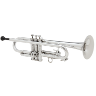 Allora Aere Series ATR-1301MS Bb Metallic Silver Trumpet in case - Return #