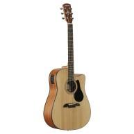 Alvarez Artist Series AD30CE Dreadnought Acoustic Electric Guitar Natural F