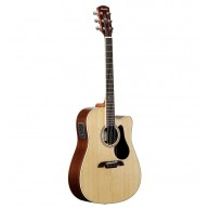 Alvarez Artist Series AD70WCE Dreadnought Acoustic Electric Guitar Natural