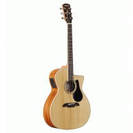 Alvarez Artist Series AG60CE Grand Auditorium Acoustic Electric Guitar Natu