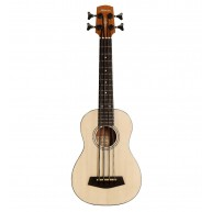 Alvarez Artist Series AU60EBASS Solid Spruce Top Acoustic Electric Ukulele