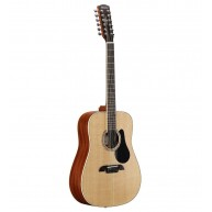Alvarez Artist Series AD60-12 Dreadnought Twelve String Acoustic Guitar Nat