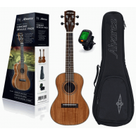 Alvarez Regent RU90CP Concert Size Koa Ukulele Pack with Tuner and 15mm Gig