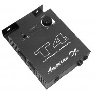 American DJ Elation T4 Four-Channel Chase Controller - Open Box #MF183