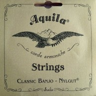Aquila Timeless Classic Banjo Model 1B-U Nylgut Medium Tension Set of 5 Str
