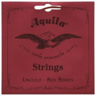 Aquila Red Series AQ-84 Soprano Ukulele Strings - Low G - 1 Set of 4 - Free
