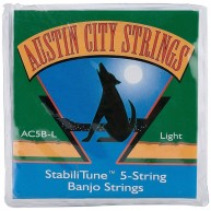 Austin City Strings Model AC5B-L StabiliTune™ 5-String Banjo Strings - LIGH