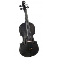 Bellafina Rainbow Series Black Violin Outfit 3/4 Size Model BVI15034OFBK