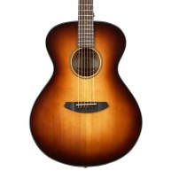Breedlove Discovery Concert Sunburst Acoustic Guitar, Sitka Spruce and Maho