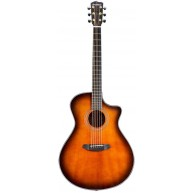 Breedlove Performer ConcertinaCE Acoustic Electric Travel Guitar, All Maho