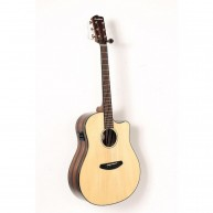 Breedlove Pursuit Dreadnought Ebony Solid Spruce Top Acoustic Electric Guit