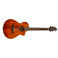 Breedlove Discovery CompanionCE Acoustic Electric Travel Guitar , All Maho